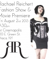 Tickets to the 2013 Fashion Show & Movie Premiere
