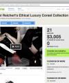 Corset Kickstarter Campaign